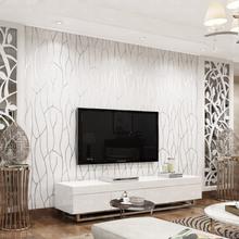 无纺布壁纸3D影视墙家装 本木客厅电视背景墙纸 现代简约卧室 素色