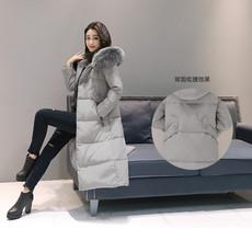 2017新款羽绒服女中长款韩国修身显瘦加厚韩版过膝大毛领时尚外套