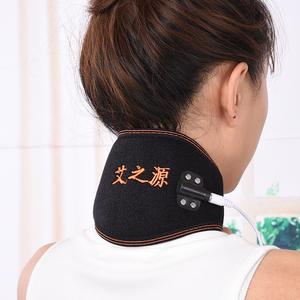 天天特价艾灸电热护颈usb电加热热敷颈椎托护脖子保暖发热颈椎套艾灸护颈