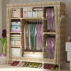 家旺达2016新款家里人 索菲亚史丹利正品大号布衣柜折叠木质衣橱