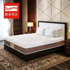斯林百兰马来西亚进口天然乳胶1.8米独立弹簧席梦思床垫
