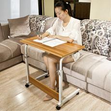 折叠学习桌简易书桌可移动笔记本电脑桌床上用写字桌升降移动桌子