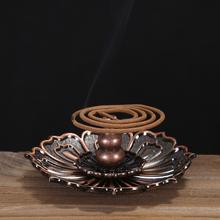 友尚合金铜香炉香插仿古香薰炉线香盘香炉创意家居摆件佛教用品