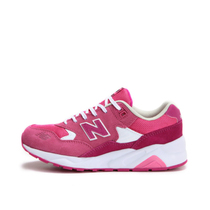 New 复古跑步鞋 粉色休闲运动鞋 580 Balance NB女鞋 KL580RUG
