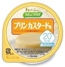 日本进口【HOUSE】低卡路里轻食甜点系列 牛奶鸡蛋布丁 60g×12个