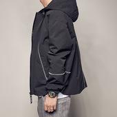连帽夹克青年休闲男士 男道2017新款 原创秋季外套日系潮流男装 外衣