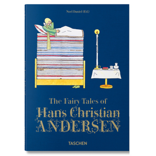 安徒生童话故事 英文原版 The Fairy Tales of Hans Christian Andersen 精装 Taschen 塔森 by Noel Daniel