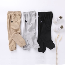 Children's anti-mosquito pants thin summer baby pajama pants girl's pants spring dress 2019 new lantern pants summer