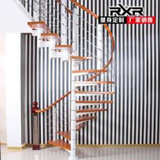 rxr楼梯旋转楼梯阁楼楼梯复试楼梯整体楼梯直梁楼梯厂家定制