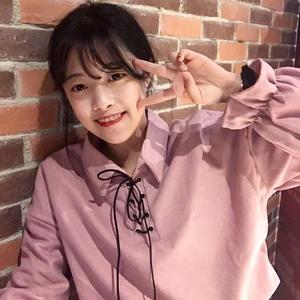 春装女装韩版宽松丝绒磨毛衬衫领口绑带学生长袖打底衫上衣衬衣潮女士衬衫