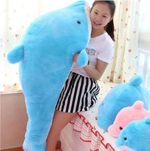 创意海豚毛绒玩具抱枕生日礼物玩偶大号创意公仔毛绒布艺类玩具