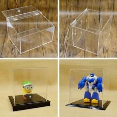 展示盒子定做防尘罩子亚克力板材定制塑料透明有机玻璃板鱼缸加工