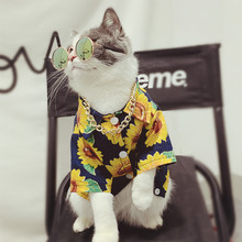 Customized Cat Clothes, Pet Tide Dog Shirts, Cat Shirts for Spring and Summer