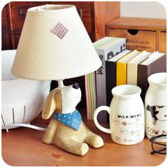 默默爱♥zakka 仰望天空 树脂动物装饰台灯 创意卧室床头小台灯