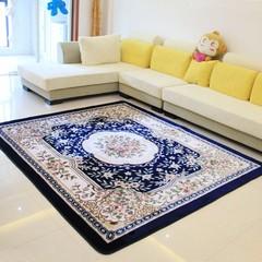 拉舍尔手工雕花客厅茶几卧室地毯地垫 四款尺寸最大2*2.4米 D0048