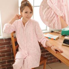 新品全国包邮纯棉双层纱布孕妇睡衣哺乳衣产妇睡衣月子服春夏