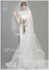 2017新款新娘头纱超长超透进口法国纱清晰简约优雅希腊女神包邮