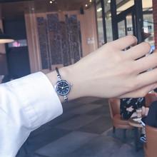 手表手镯式女开口中学生韩版 简约创意学院风送女生生日礼物细链条
