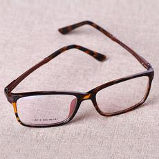 正品 天然白水晶原石镜片 石头眼镜平光养目镜 防辐射眼镜 男女款