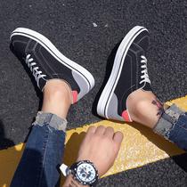 夏季帆布鞋 潮鞋 运动透气秋款 布鞋 板鞋 休闲鞋 男韩版 男生潮流行男鞋