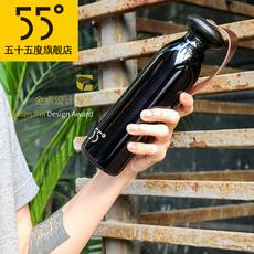 55度邦德保温杯 大容量直身车载杯子 304不锈钢男士个性商务水杯