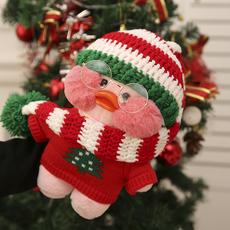 网红穿毛衣玻尿酸鸭子ins小黄鸭毛绒玩具公仔玩偶礼物情人节礼物