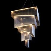 灵极光精品流苏链吊灯客厅餐厅楼梯复式楼家装 酒店工程灯具灯饰