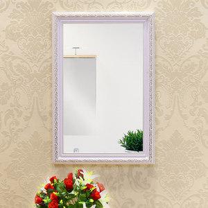 贴墙<span class=H>镜</span>子带框粘贴浴室<span class=H>镜</span>卫生间厕所梳妆台化妆<span class=H>镜</span>欧式洗手间壁挂
