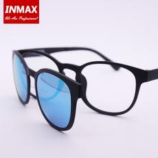 磁吸套镜近视偏光太阳镜夹片男女双层磁铁吸附眼镜框两用墨镜贴片