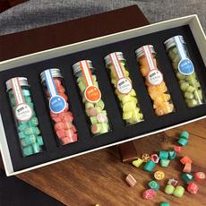 手工棒棒糖果水果切片礼盒装candy女生儿童万圣节零食散装lab