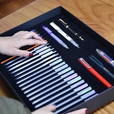 学生文具学习套装纸质硬盒装礼盒礼物初中高中奖品包邮
