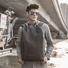 Anti splashing backpack men's travelling bag Korean version shoulder bag fashionable fashion youth casual leisure computer bag schoolboy