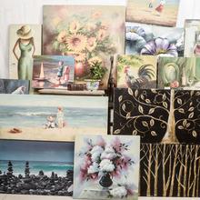 饰品油画壁饰壁画 美式乡村风格 墙壁装 孤品大集合 复古家居软装