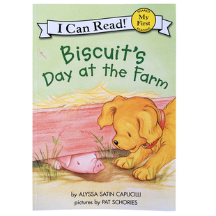 My First I Can Read Biscuit's Day at the Farm小饼干系列童书
