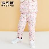 波司登童装新款萌趣卡通中小童宝宝男女童保暖羽绒裤T80131012