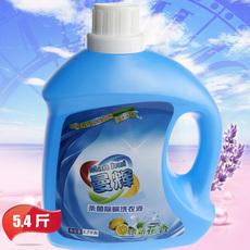 新款曼辉洗衣液推举家庭装加量清洁护理除菌去污薰依草香深层洁净
