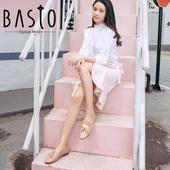 百思图2018春季专柜同款牛皮乐福鞋休闲浅口女小皮鞋DAC02AQ8