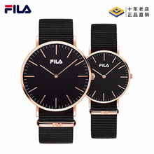 斐乐FILA手表男女简约情侣表时尚潮流大表盘尼龙带腕表dw778手表