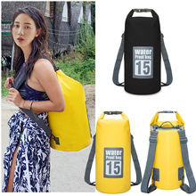 Outdoor waterproof bag, waterproof bag, swimming bag, beach mobile phone, snorkeling, backpack, drifting bucket bag.