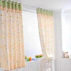 麦布拉 茉莉 浪漫田园夏日清新定制窗帘 布 书房 卧室 客厅韩式
