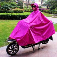 天堂超大两边加宽加厚牛津布电动车加长雨衣摩托车雨披骑车雨披