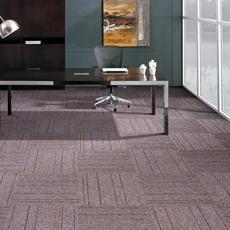 办公室装修方块拼接地毯50*50写字楼会议室商用工程平圈地毯PVC底