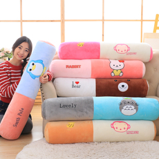 抱枕 可拆洗圆柱枕头沙发长条抱枕糖果枕头可爱靠枕床头圆形靠垫