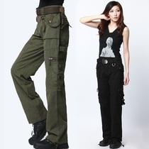 军裤 工装 女士登山裤 同盟军军迷服饰户外春夏休闲直筒 迷彩裤