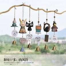 日式龙猫风铃挂饰创意门饰女生卧室小清新儿童房间装饰品铃铛挂件