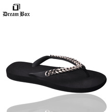 GZ & CH2019 Summer New Punk Metal Chain Men's Flip-flop Beach Shoes Men's Flat-soled Slippers