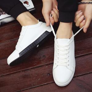 2017春季新款板鞋男士小白鞋男鞋透气休闲鞋韩版白色运动学生潮鞋板鞋男