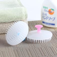 日本进口洗头刷洗头梳子按摩刷洗头刷子成人洗头器抓头器2只装