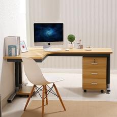 新款转角电脑桌墙角拐角办公桌L型书桌子台式家用简约现代写字台