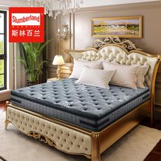 斯林百兰天然乳胶弹簧床垫1.5m床席梦思床垫1.8米 奥斯本宫